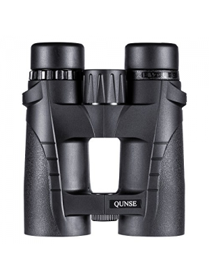 QUNSE Compact Binoculars for Adults Bird Watching Clearly - 8X42 High Definition Traveler Large-view - Novel Modeling and Lightweight - Binocular Great for Outdoor Sports Games and Concerts