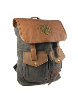 The Coop Walking Dead Rick's Sheriff Backpack-Black