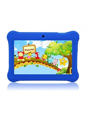 "Tagital 7"" T7K Quad Core Android Kids Tablet, with Wifi and Camera and Games, HD Kids Edition with Kid Mode Pre-Installed (Blue)"