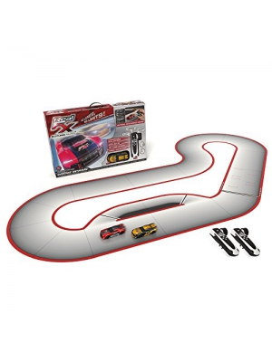 Real FX Racing: Slotless Racetrack System including two RC Cars and Handsets with Artificial Intelligence