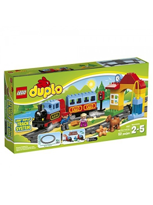 LEGO DUPLO My First Train Set 10507, Preschool, Pre-Kindergarten Large Building Block Toys for Toddlers