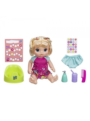 "Baby Alive Potty Dance Baby: Talking Baby Doll with Blonde Hair, Potty, Rewards Chart, Undies and More, Doll That ""Pees"" on Her Potty, for Girls and Boys 3 Years Old And Up"
