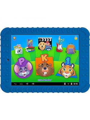 School Zone Little Scholar Learning Tablet. Over 200 Pre-Loaded Learning apps- Blue