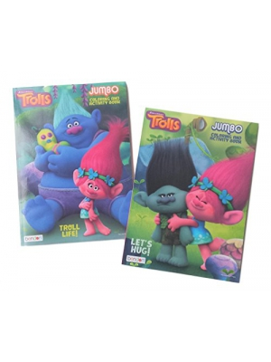 DreamWorks Trolls 2Pack Coloring Book Set: The Trolls Movie (Assorted Titles)