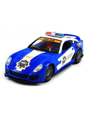 ULTIMATE Electric Full Function 1:16 Ferrari 599XX Super Police Force RTR RC Car by 8818-22