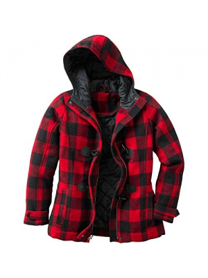 Legendary Whitetails Women's Dusty Trail Button Down Plaid Jacket