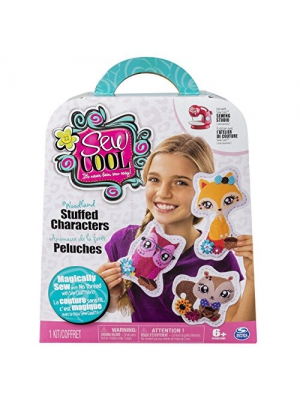 Sew Cool, Woodland Stuffed Characters Fabric Kit