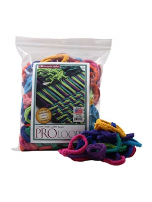 "Harrisville Designs PRO 10"" Cotton Loops, Multiple Color Pack - Makes 2 Potholders"