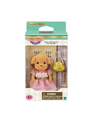 Calico Critters Town Girl Series - Toy Poodle -