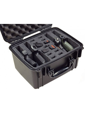 Case Club Waterproof 4 Pistol Case with Silica Gel