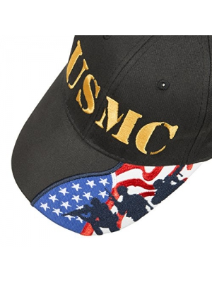 US Marines Corps embroidered cap Few Proud Military USA Insignia Adjustable Baseball Caps Hat