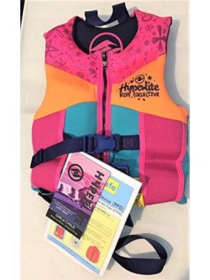 Hyperlite Child Life Vest, Blue, USCG Approved Type III or Type II Personal Floatation Device,