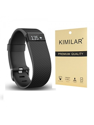 Screen Protector for Fitbit Charge HR(20 Packs) - KIMILAR Premium Clear Shatterproof Screen Protector for Fitbit Charge HR/Fitbit Charge Wireless Activity Wristband (Pack of 20)