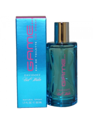 Cool Water Game by Zino Davidoff for Women - 1.7 Ounce EDT Spray