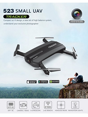 Mini Portable Foldable Pocket Drone Camera Smartphone Wi-Fi Remote Control with FPV Function Headless Mode Quadcopter Selfie Drone by Nirvana Sailor