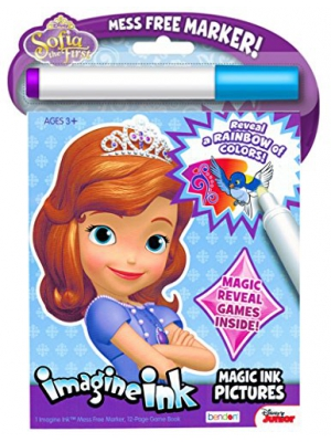 Disney Sofia the First Imagine Ink Book