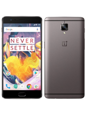"OnePlus 3T A3000 6GB/128GB 5.5"" Factory Unlocked North American Version - Gunmetal"