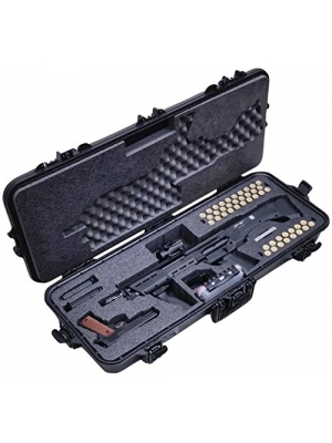 Case Club Pre-Made Waterproof Kel-Tec KSG and Standard Manufacturing DP-12 Shotgun Case with Silica Gel & Accessory Box