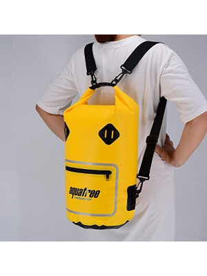 10L/20L Waterproof Dry Bag, Floatable roll top dry sack with exterior zipper pocket and see through window , prefect for Kayak, Beach, Rafting, Boating, Hiking, Camping, Fishing, Canoe,swim,rafting