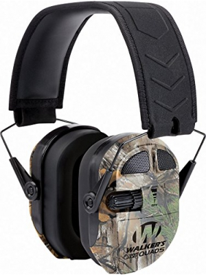 Walkers Game Ear Ultimate Power Muff Quads with AFT/Electric