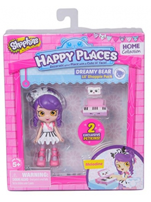 Happy Places Shopkins Doll Single Pack Melodine