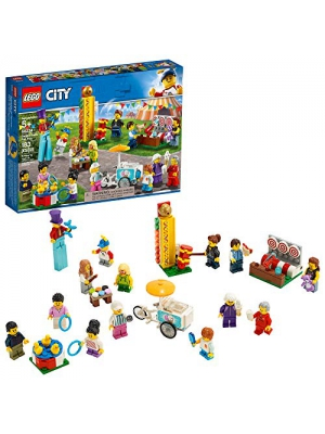 LEGO City People Pack – Fun Fair 60234 Building Kit, New 2019 (183 Pieces)