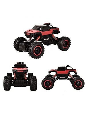 TTLIFE RC Car-Remote Control Car - 4x4 Remote Control Car - 1/14 Rock Master Rock Crawler with 2.4Ghz Controller(red)