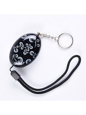 120Db Delicate Printing Emergency Personal Alarm Keychain/the Wolf Alarm/Elderly/kids Safety/Attack/Protection/Self Defense Electronic,Good for Who Work At Night,Adventurer,as a Bag Decoration