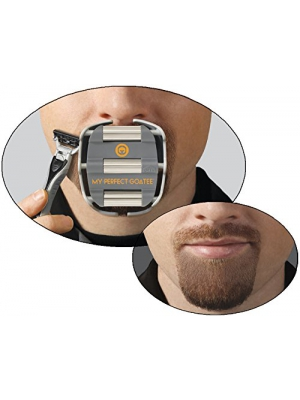 My Perfect Goatee, Men's Goatee Shaving Template by GoateeSaver, GTS 1001