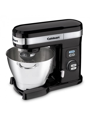 NEW Cuisinart SM-55BK Black 5.5-quart 12-speed Stand Mixer