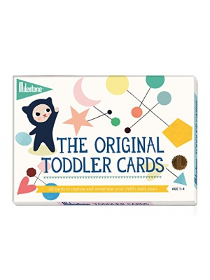 Milestone - Toddler Photo Cards - 30 Photo Cards to Capture the Memorable Moments in Your Child's Early Years (Ages 1-4)