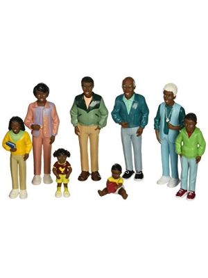 Marvel Education Co MTC-125 Marvel Education African American Family Doll Set