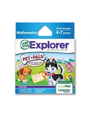 LeapFrog Explorer Pet Pals Learning Game (works with LeapPad Tablets, Leapster GS and Leapster Explorer))
