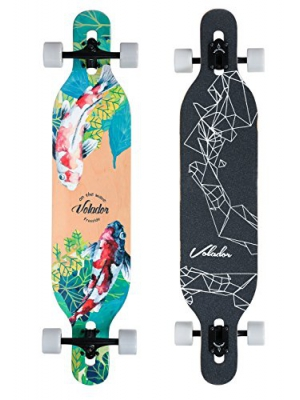 Volador 42inch Freeride Longboard ( Drop Through Camber Deck )