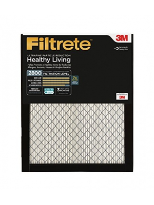 Filtrete MPR 2800 20 x 25 x 1 Ultrafine Particle Reduction HVAC Air Filter, Captures Fine Inhalable Particles, Uncompromised Airflow, 2-Pack