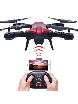 PowerLead Pqad RC Quadcopter Drone 6 Axis Gyro Explorer UFO with 2MP Camera Remote Control Drone Quadcopter Drone with HD Camera