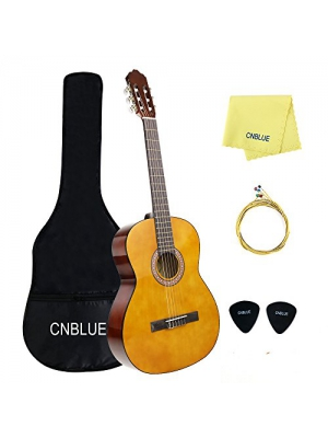 CNBLUE 3/4 Size Classical Acoustic Guitar 36 inch Nylon Strings Guitar for Beginners Kid Guitar
