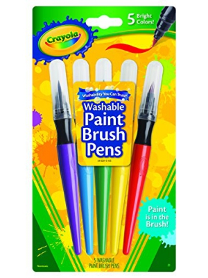 Crayola - Paint Brush Pens - 5 Count
