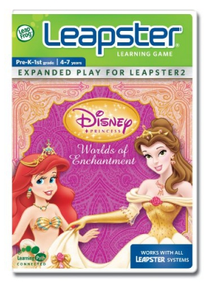 LeapFrog Leapster Learning Game Disney Princess Worlds Of Enchantment
