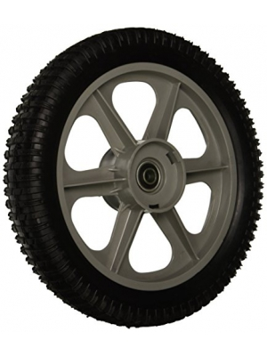 Maxpower 335112 12 Inch Plastic Spoked Wheel Replaces Poulan/Husqvarna/Craftsman 194387X460, 431880X460, 532433121, 433499X460, 532402935