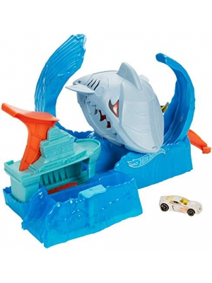 Hot Wheels City Color Changing Robot Shark Play Set Kids Ages 3 and Older