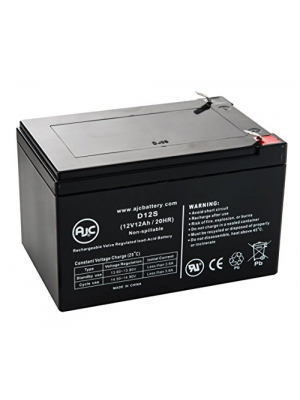 Drive Design Phoenix 4-Wheel Scooter 12V 12Ah Battery - This is an AJC Brand Replacement