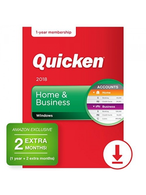 Quicken Home & Business 2018 – 14-Month Personal Finance & Budgeting Software [PC Download] – Amazon Exclusive