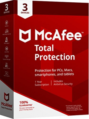 McAfee 2018 Total Protection - 3 Devices