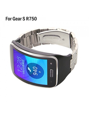 HWHMH 1PC Replacement Stainless Steel Metal Band Wristband Bracelet Strap For Samsung Galaxy Gear S SM-R750 Smart Watch