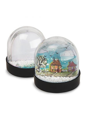 Color-Me Snow Globes (makes 12)
