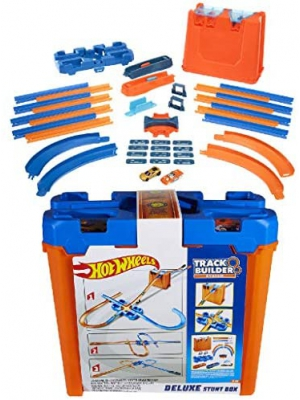 Mega Hot Wheels Track Builder Deluxe Stunt Box