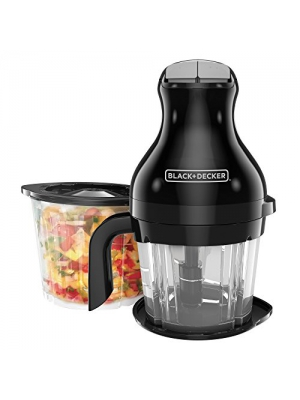 BLACK+DECKER PS2000BD Prep & Blend Multi-Chopper, Black