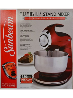 Sunbeam Heritage Series Stand Mixer - Red