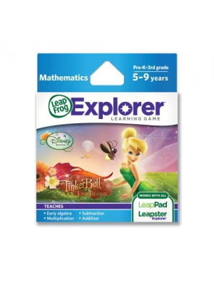 LeapFrog Explorer Learning Game: Disney Fairies: Tinker Bell and the Lost Treasure (works with LeapPad & Leapster Explorer)